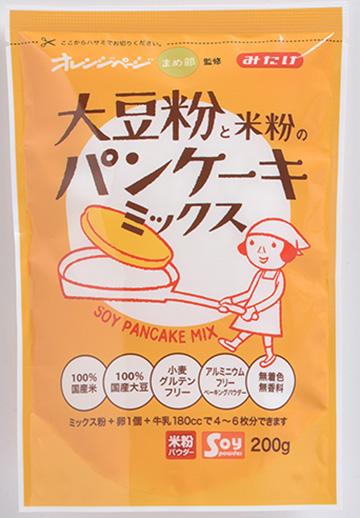お米と大豆のパンケーキミックス