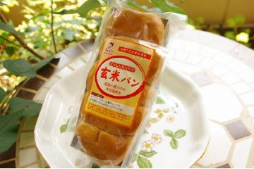 国産小麦の玄米パン